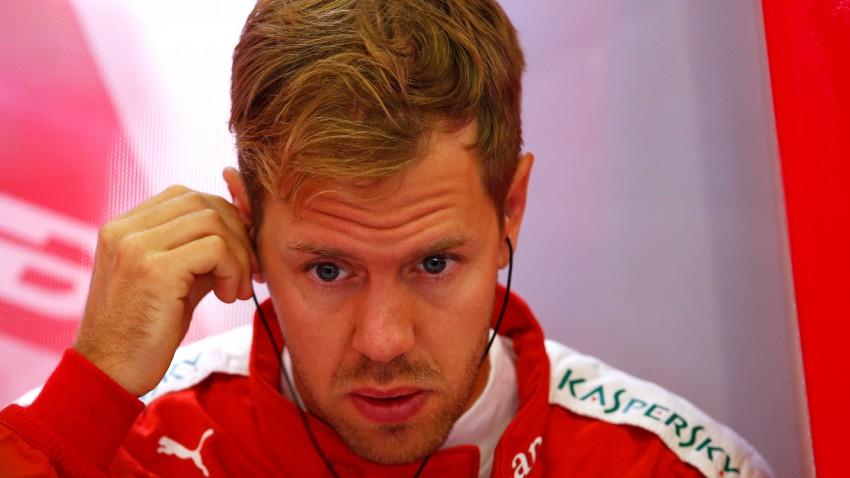"""""""Erst platzte Vettel der Reifen - und dann der Kragen!"""""""
