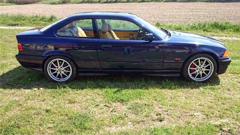 BMW 320i coupe e36 1996 zu verkaufen 4