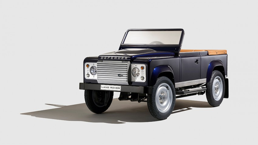 Ein echter Land Rover Defender für die Kleinen