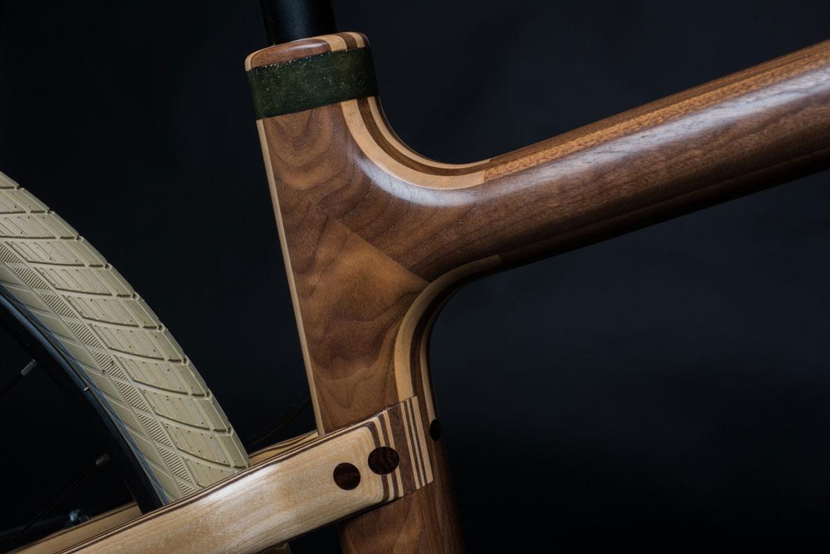 Grainworks Wood Art bicycle 3