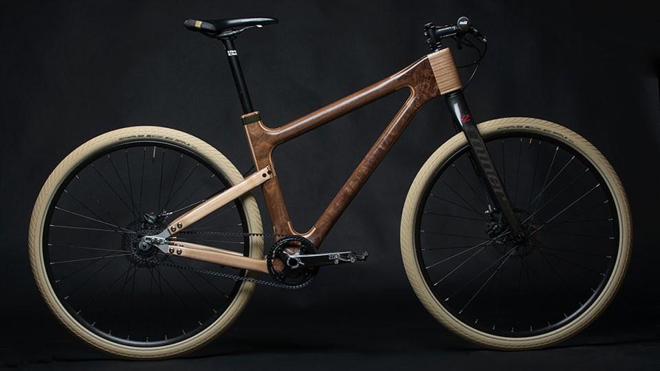 Grainworks Wood Art bicycle 7