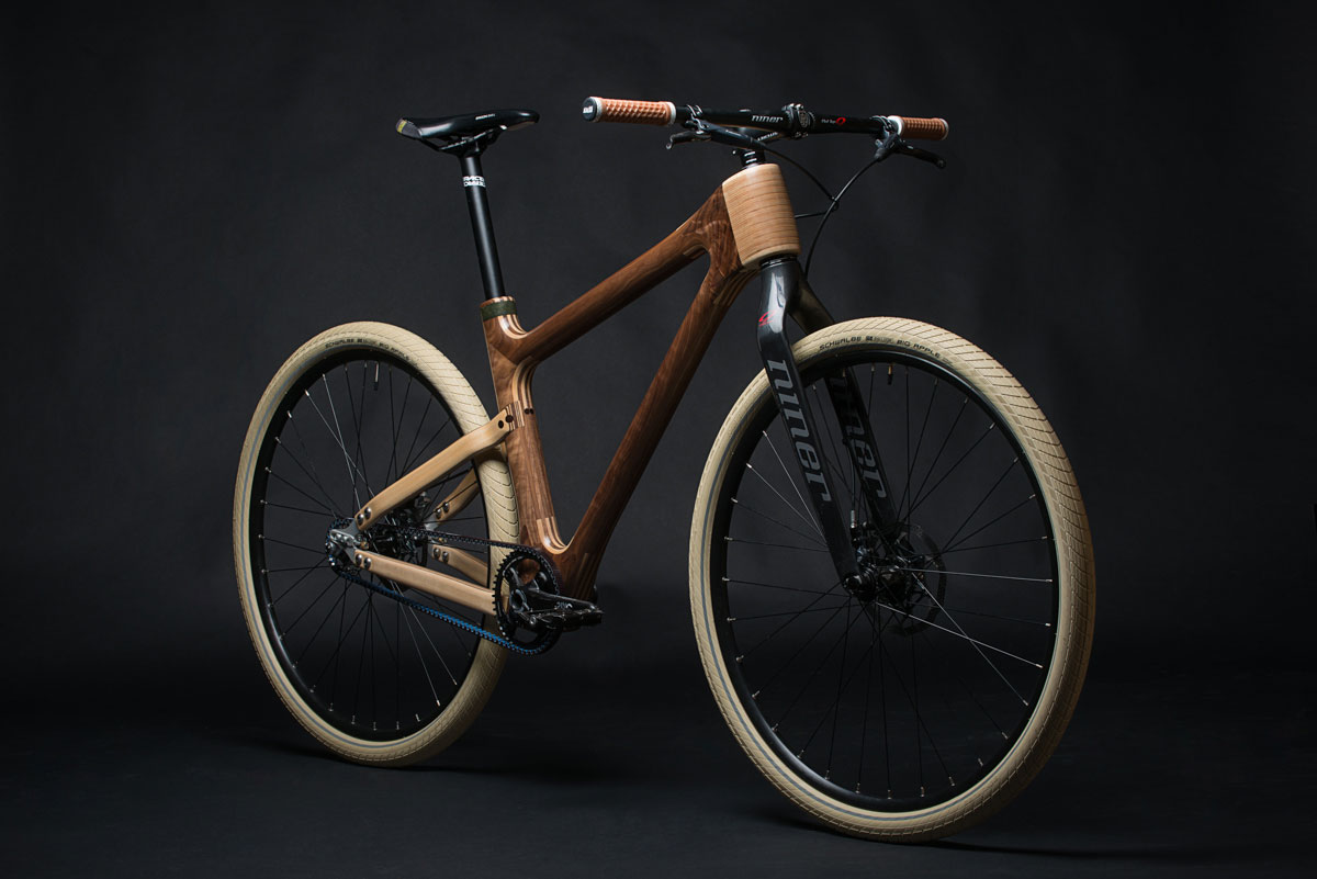 Grainworks Wood Art bicycle 8