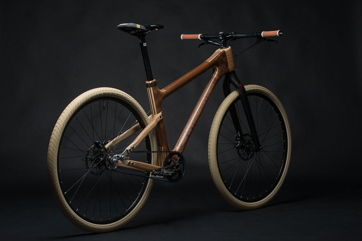 Grainworks Wood Art bicycle 9