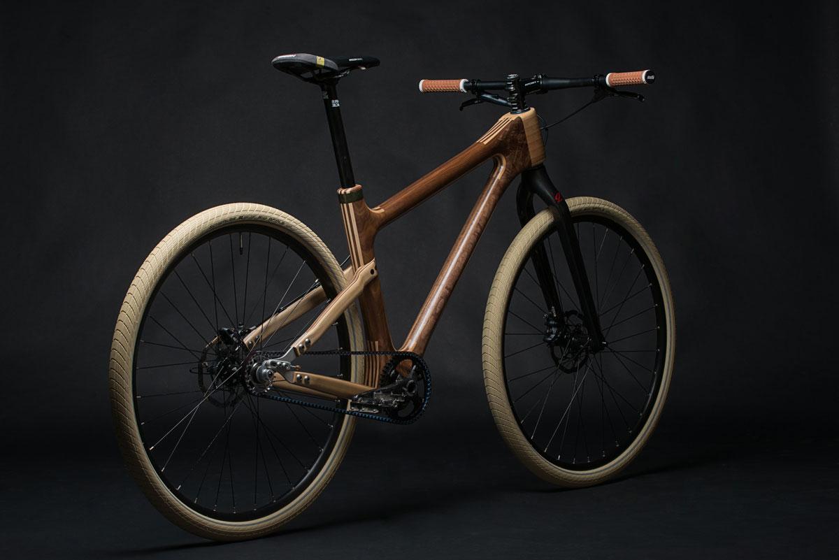 Grainworks Wood Art bicycle 9