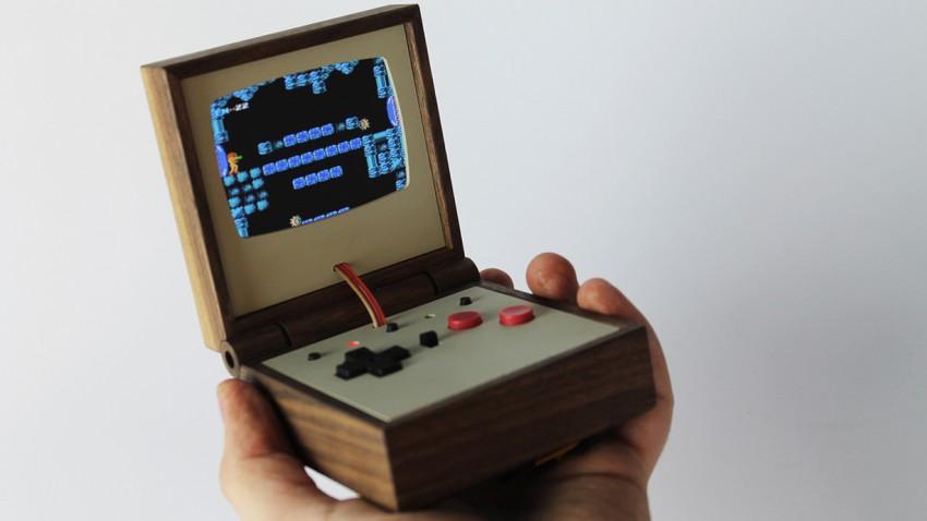 NES-Games auf der stylishen Mini-Konsole