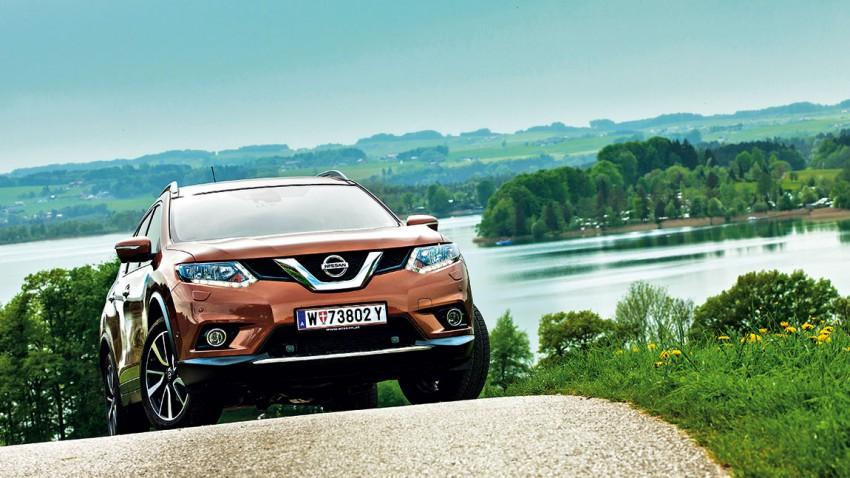 Nissan X-Trail 1,6 dCi: Stadt, Land, Berg, Tal