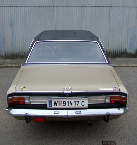 opel commodore gs a 4