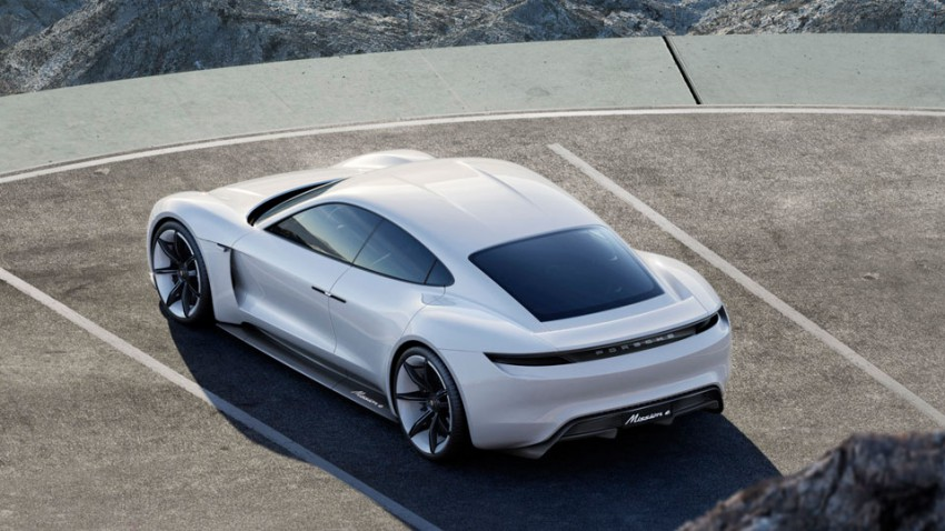 Porsche Mission E: Elektro-Superstar