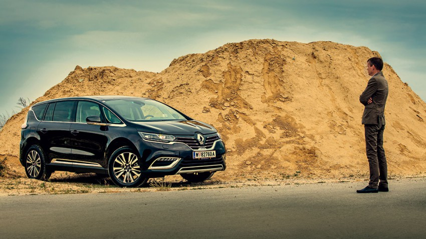 Dauertest-Einstieg: Renault Espace – Raum ist eine Tochter der Zeit