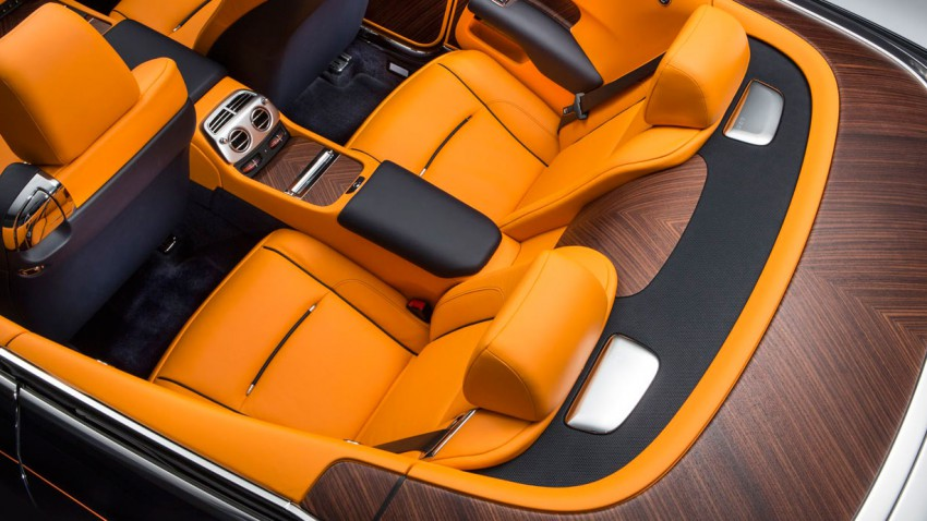 Rolls-Royce Dawn - extrem teuer, extrem leise