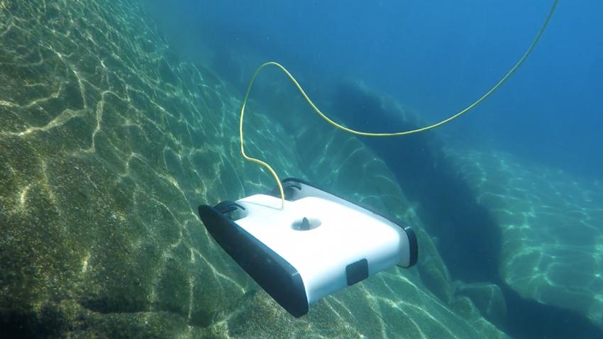 Eine Unterwasser-Drohne für den Hausgebrauch