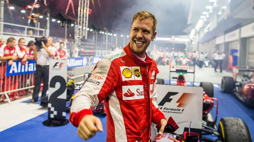 Vettel überholte Senna in Singapur