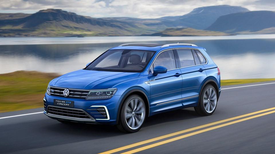 Neu: VW Tiguan 2016 auf der IAA