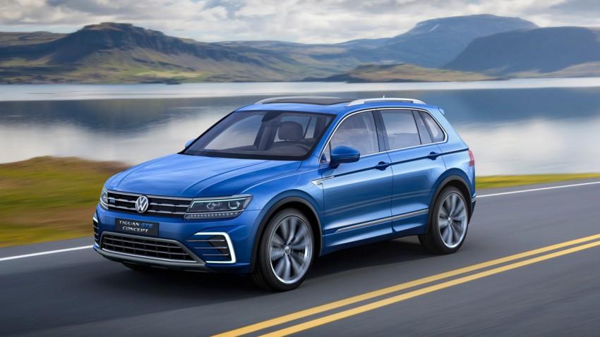 Der neue VW Tiguan 2016: Die Messlatte liegt bei 2,64 Millionen