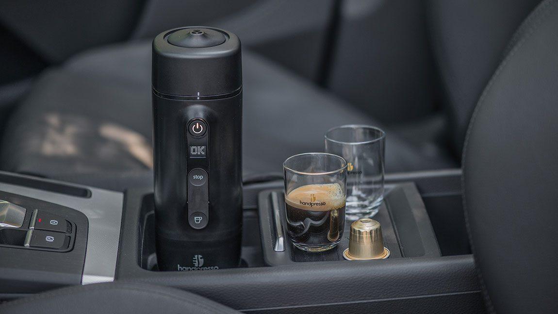Handpresso - die Espressomaschine fürs Auto