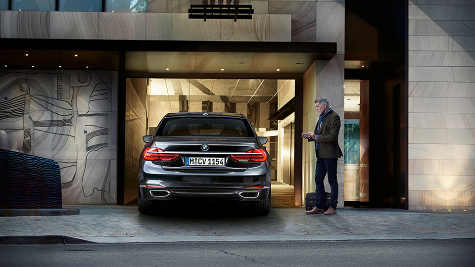 BMW 7er 2016 DisplayKey 2