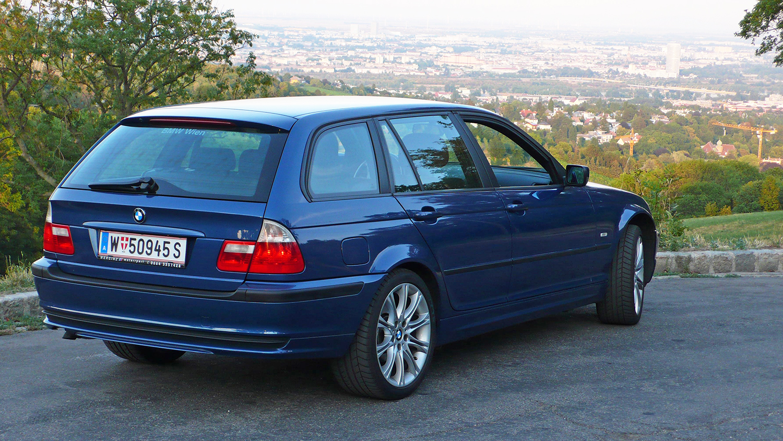 BMW E46 320d touring 2001 zu verkaufen 3