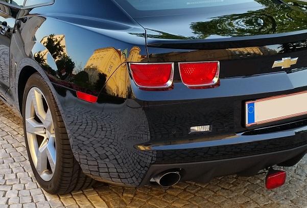 Chevrolet Camaro SS 2011 schwarz zu verkaufen