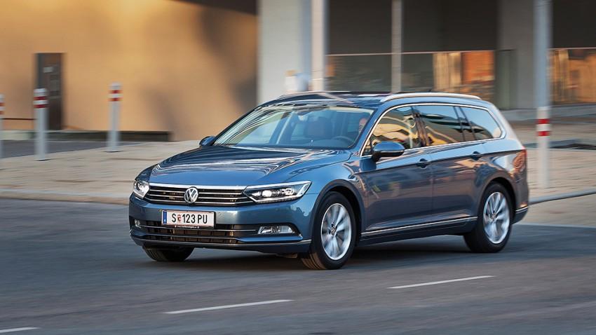 VW Passat Variant tdi dsg highline vorne seite front kühlergrill 2015