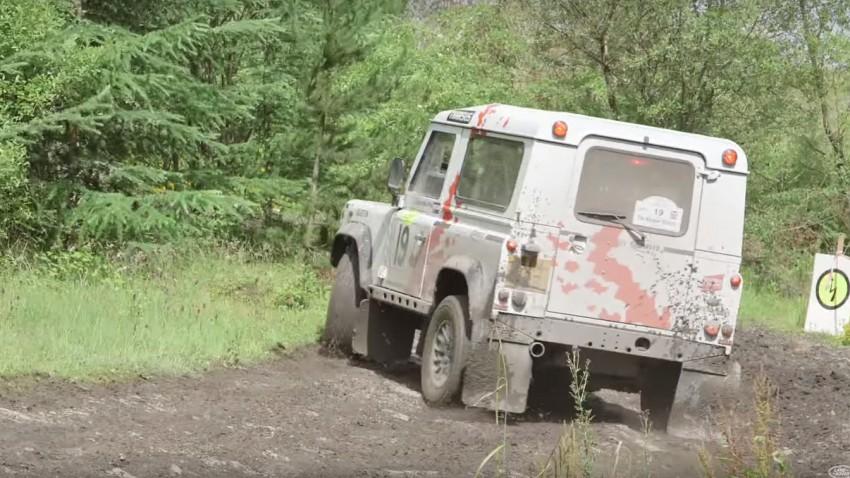 Die Land Rover Defender Challenge ist eine verrückte, aber großartige Idee