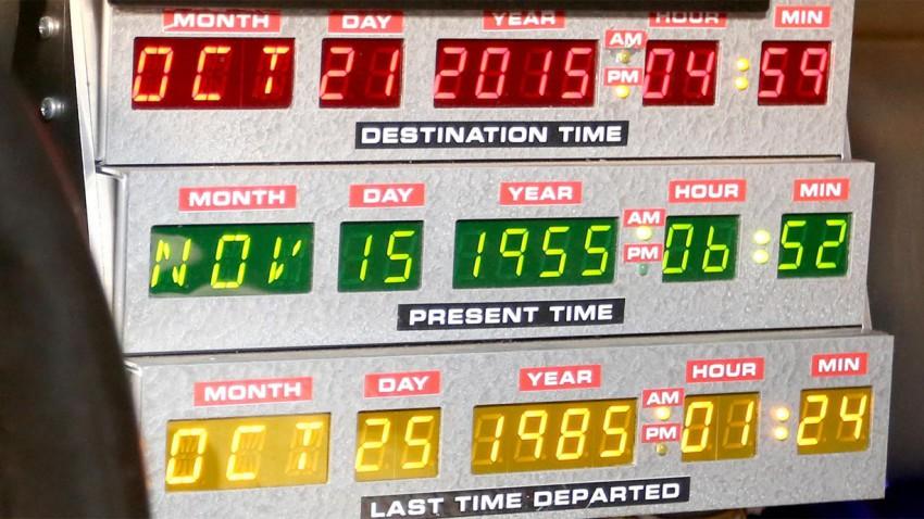 Marty McFly ist Zurück in der Zukunft