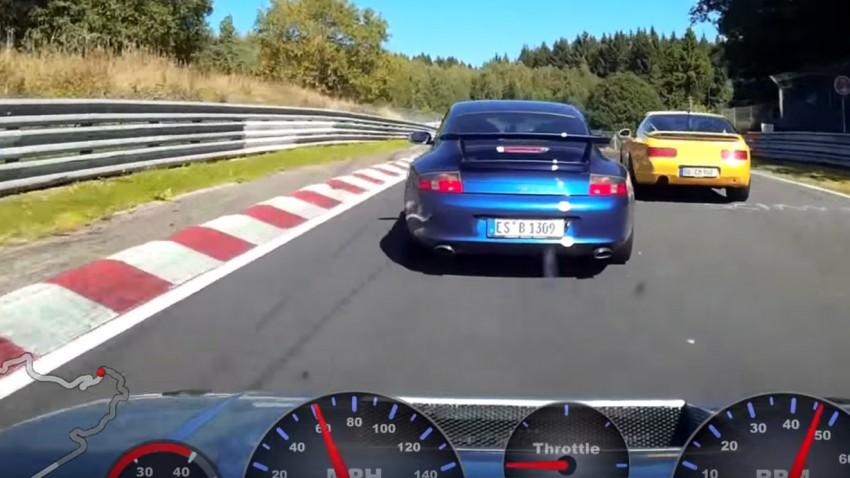 Golf 2 vs. Porsche 911 GT3