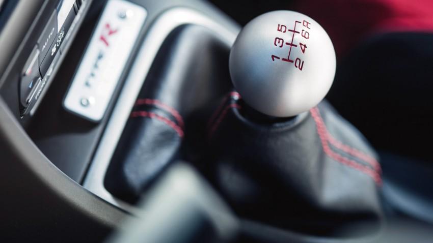 Honda Civic Type R, DIESES Getriebe