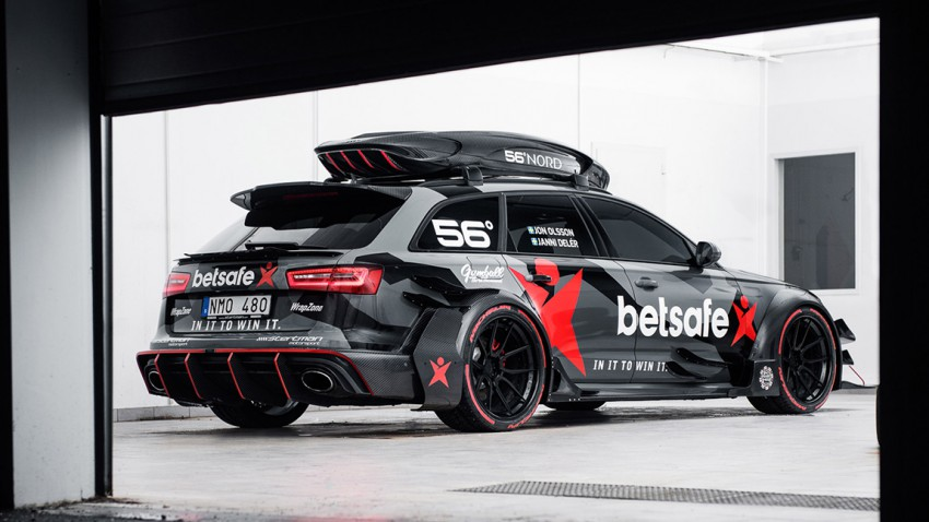 Jon Olssons Audi RS6 DTM: ein Haufen Asche