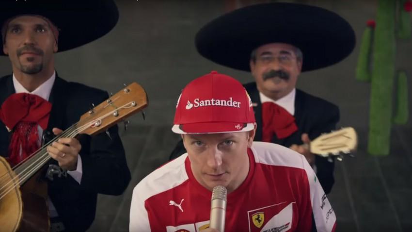 Kimi Räikkönen hat Spaß (!) bei der Vorbereitung auf den Mexiko-GP