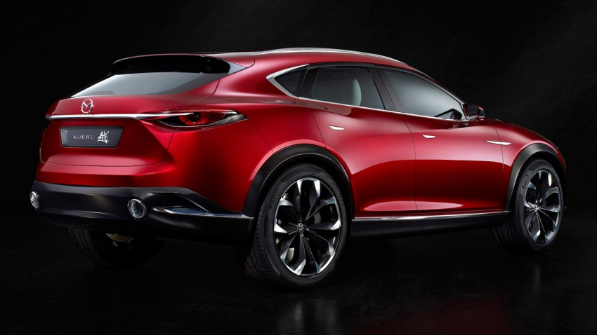 Wohin will Mazda mit dem Koeru Concept?