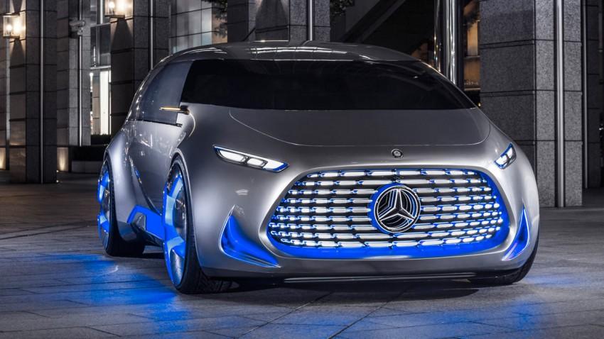 Mercedes Vision Tokyo, das Auto für unter 20-Jährige