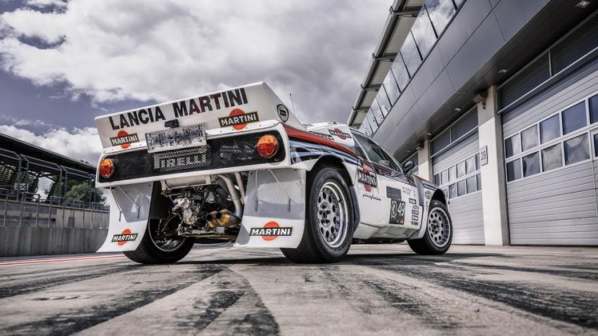 Komprimierte Schönheit: Lancia 037