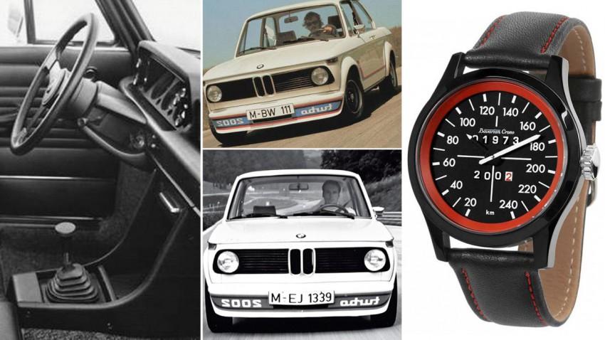 BMW-2002-turbo-Tacho-Uhr