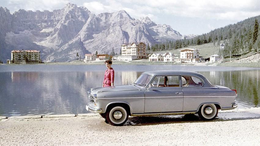 borgward isabella limousine werbung