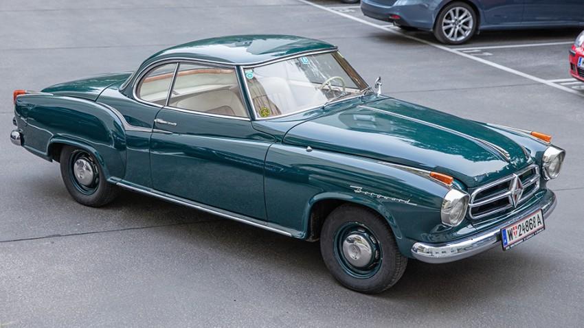 Borgward isabella coupé kaufberatung vorne front seite