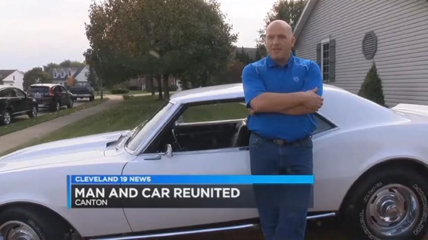 Dieser Mann fand seinen gestohlenen Camaro nach 33 Jahren wieder