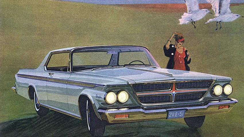 Autowerbung von Chrysler 1964