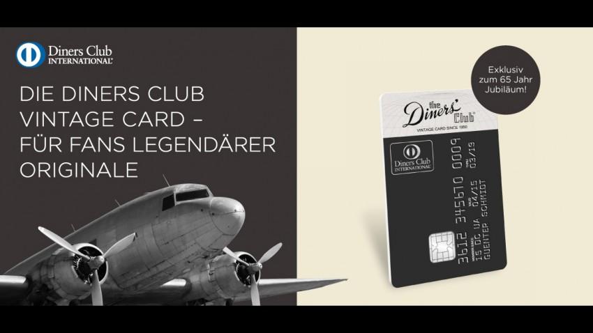 Die Diners Club Vintage Card – für Fans legendärer Originale