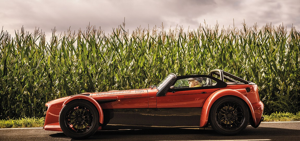 Donkervoort GTO rot 2015 seite