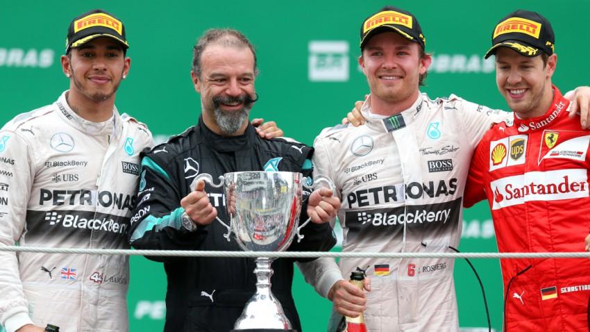 Rosberg ist Formel 1-Vizeweltmeister 2015
