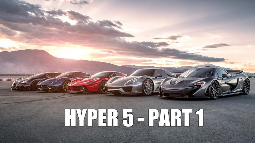 Hyper 5 – Kräftemessen der Giganten