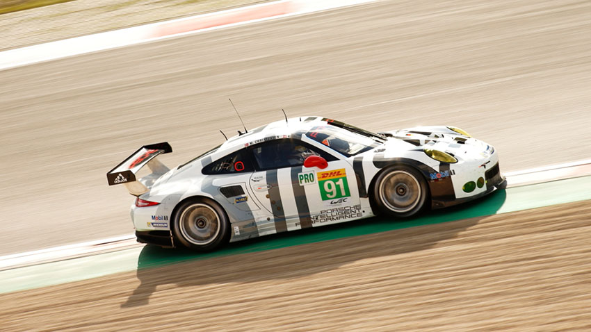 Porsche 911 RSR (91), Porsche Team Manthey:  Richard Lietz, Michael Christensen