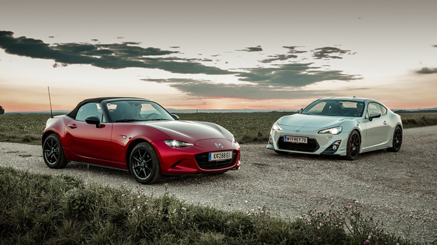Es gibt sie noch, die guten Dinge – Mazda MX-5 und Toyota GT86
