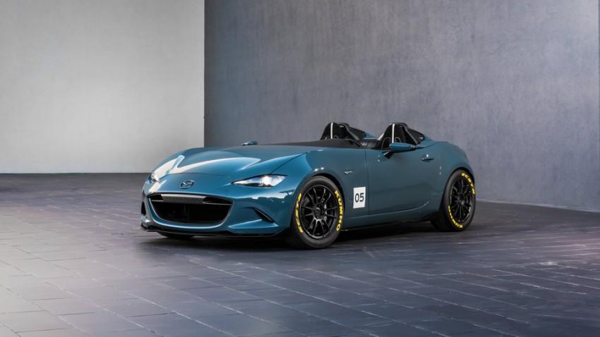 Mazda MX-5 als Spyder und Speedster