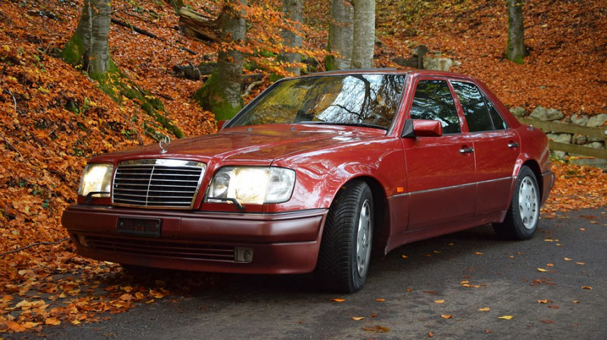 Mercedes-500-E,-1992-bei