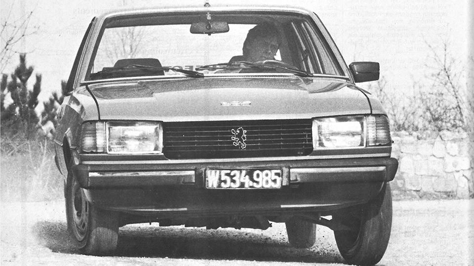 Peugeot 305 SR 1978 kühlergrill front vorne scheinwerfer