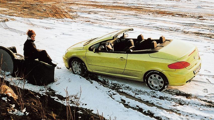 Peugeot 307cc 2,0 16V – Hut ab
