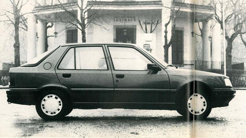 Peugeot 309 – Unser aller neues Heck