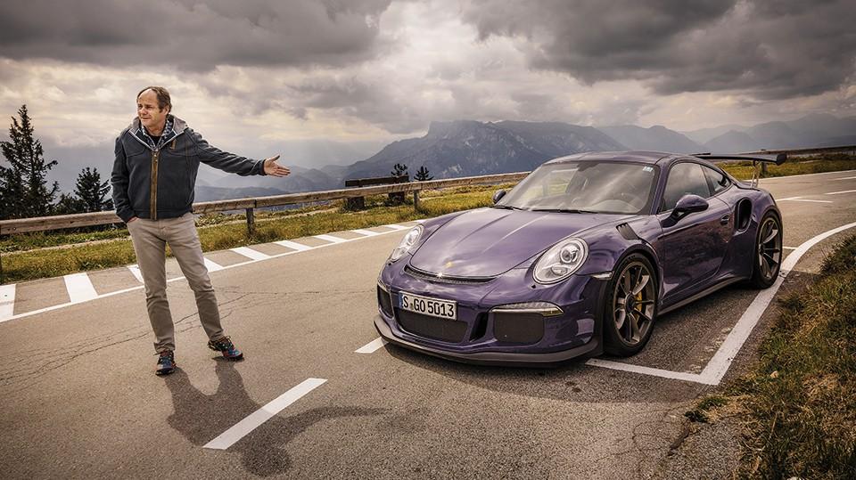 Porsche 911 GT3 RS 2015 ultraviolett gerhard berger