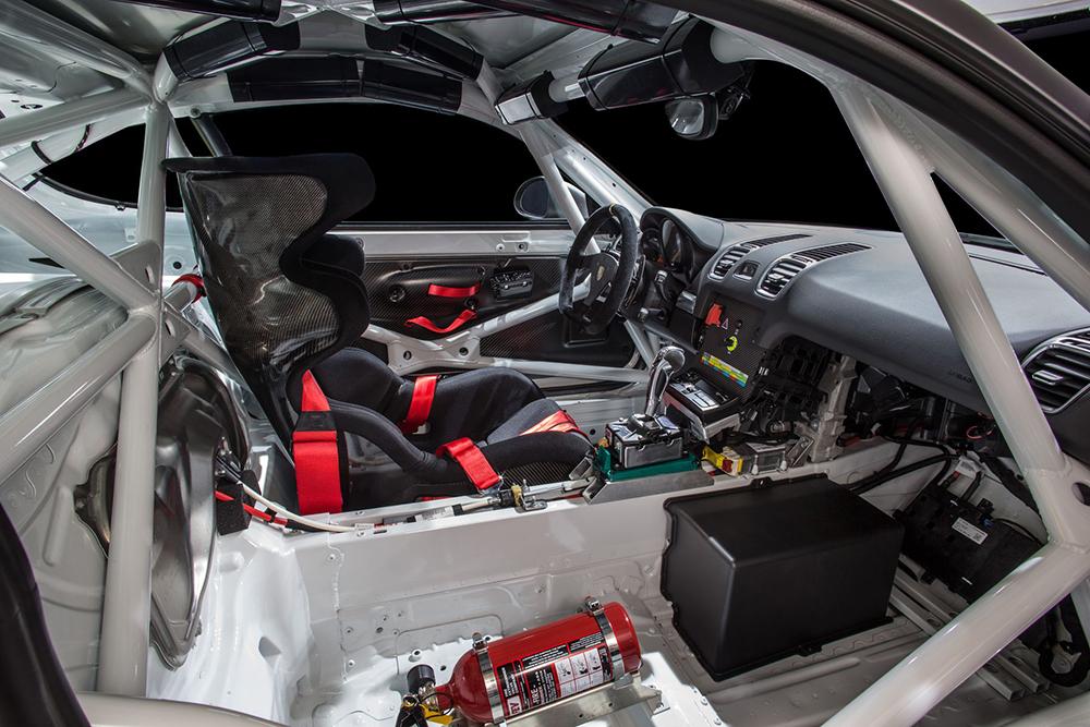 Porsche Cayman GT4 Clubsport 2016